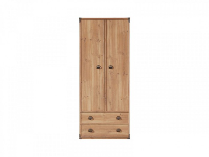 Wardrobe Indiana Antique Pine