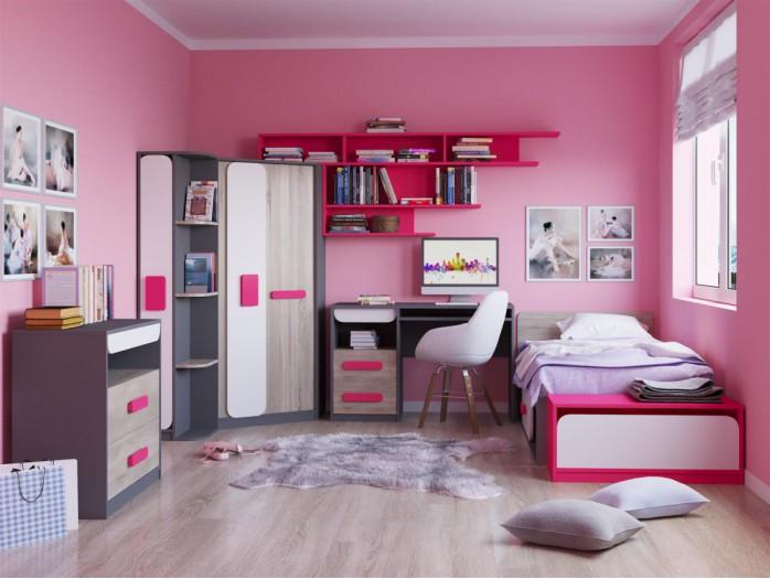 jugendzimmer komplett kinderzimmerm bel bs moebel. Black Bedroom Furniture Sets. Home Design Ideas