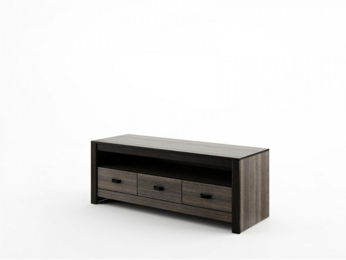 TV Cabinet Denver DN-9 Wenge Mali / black.