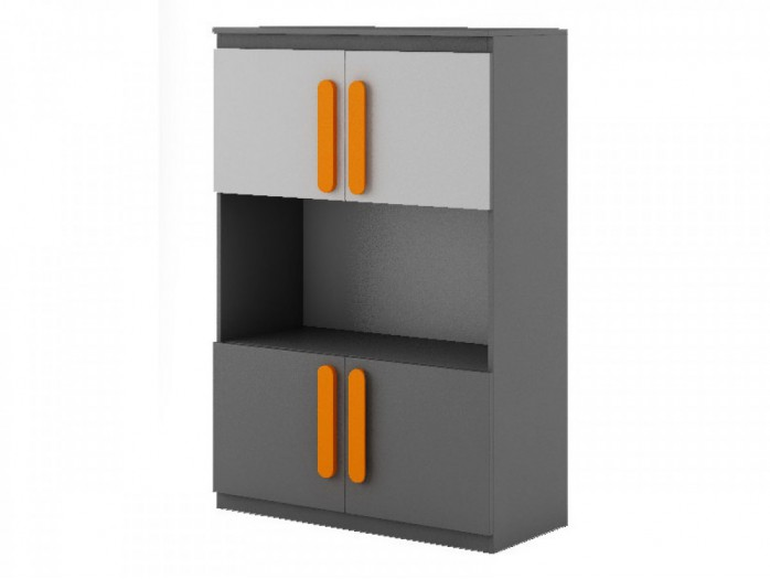 Chest Play  Anthracite / Grey / Orange