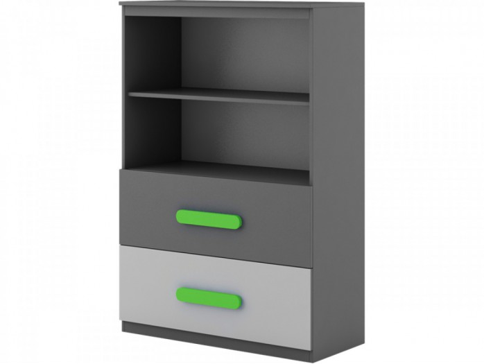 Chest of drawers  Play Anthracite / Grey / Green