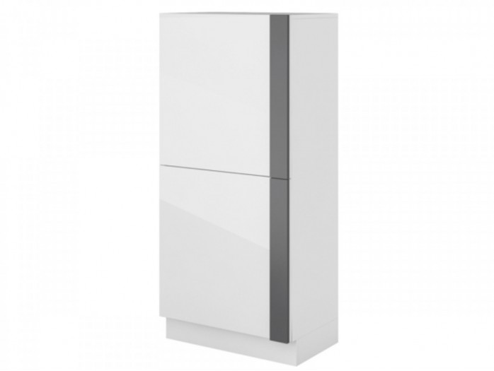 Dresser Y-06  white/ with glossy front/Grey