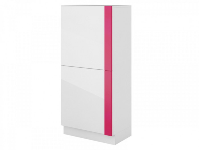 Dresser Y-06  white/ with glossy front/ Pink