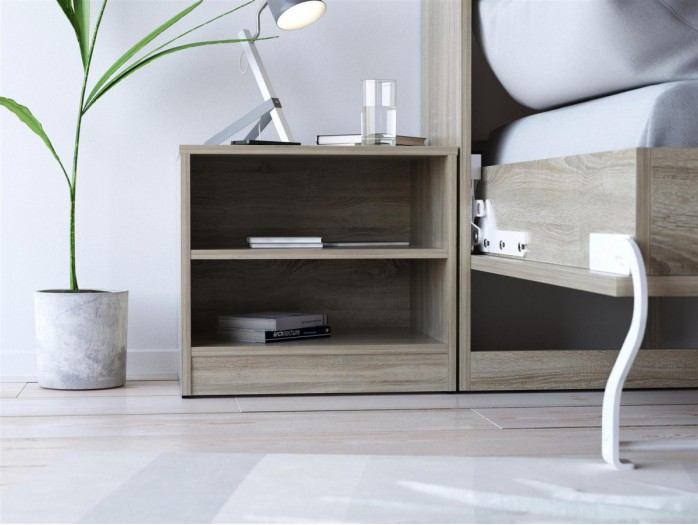 SMART bedside table Oak sonoma