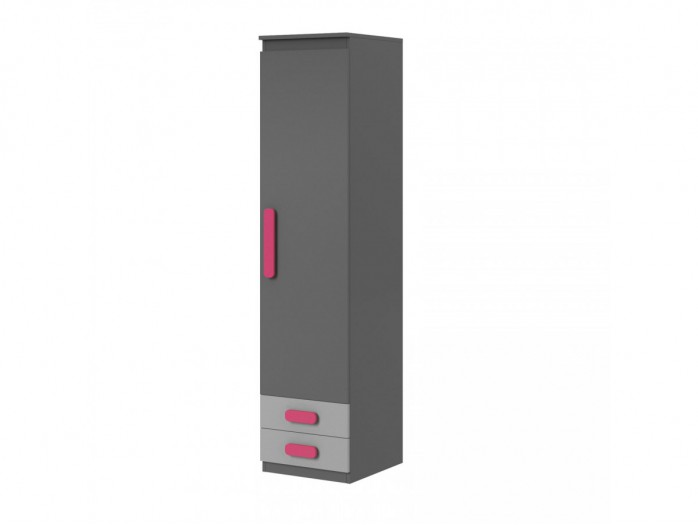 Cabinet Play Anthracite / Grey / Pink