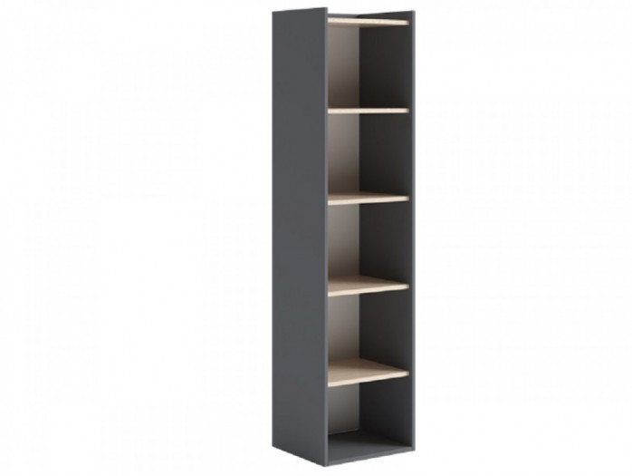 Shelf IKS 45 cm Anthracite/ Oak Cream