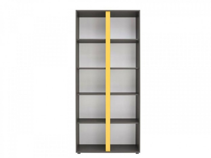 File Cabinet  Grey/ Yelloow
