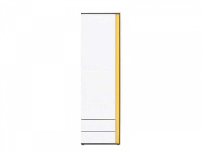 Cabinet Graphic REG1D2SL left White / Yellow