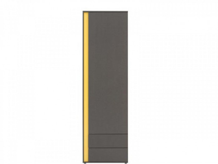 Cabinet Graphic REG1D2SP right  Grey / Yellow