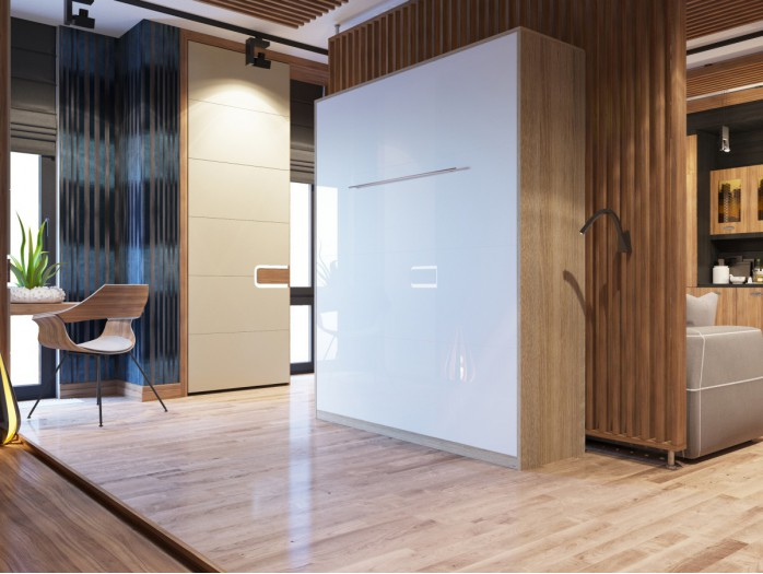 schrankbett 160 x 200 cm g nstig kaufen bs moebel. Black Bedroom Furniture Sets. Home Design Ideas
