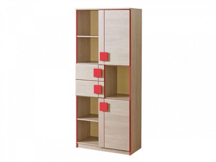 stehregal eiche santana rot 91 30. Black Bedroom Furniture Sets. Home Design Ideas