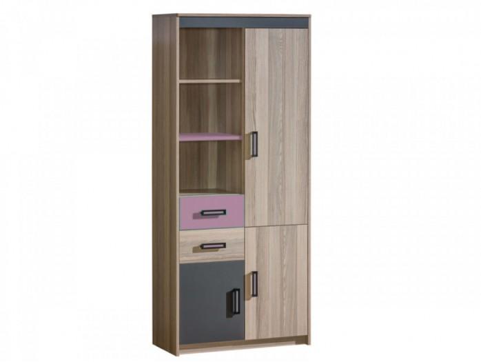 jugendbett mit 2 schubladen und matratze esche dunkel. Black Bedroom Furniture Sets. Home Design Ideas