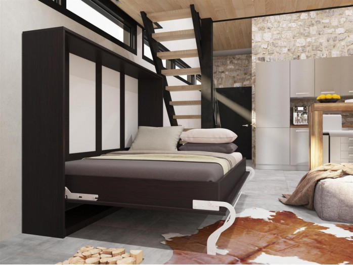 schrankbett hier g nstig kaufen bs moebel. Black Bedroom Furniture Sets. Home Design Ideas