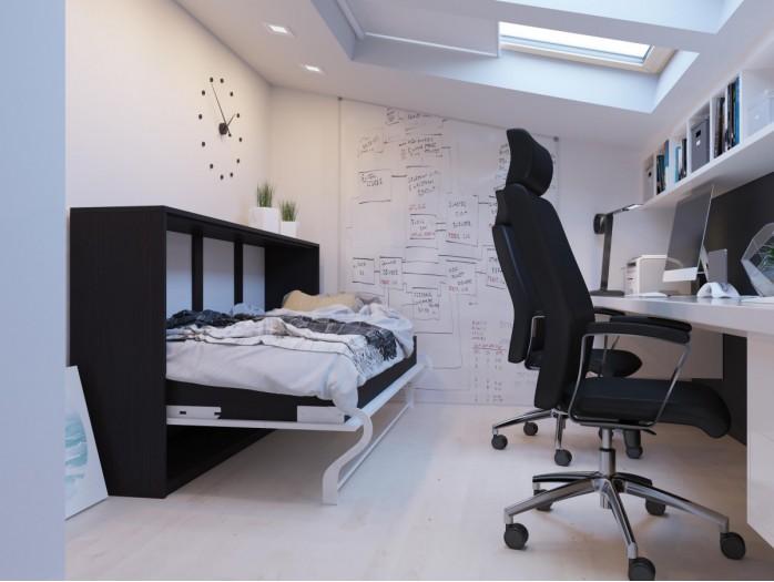 schrankbett 90 x 200 cm g nstig kaufen bs moebel. Black Bedroom Furniture Sets. Home Design Ideas