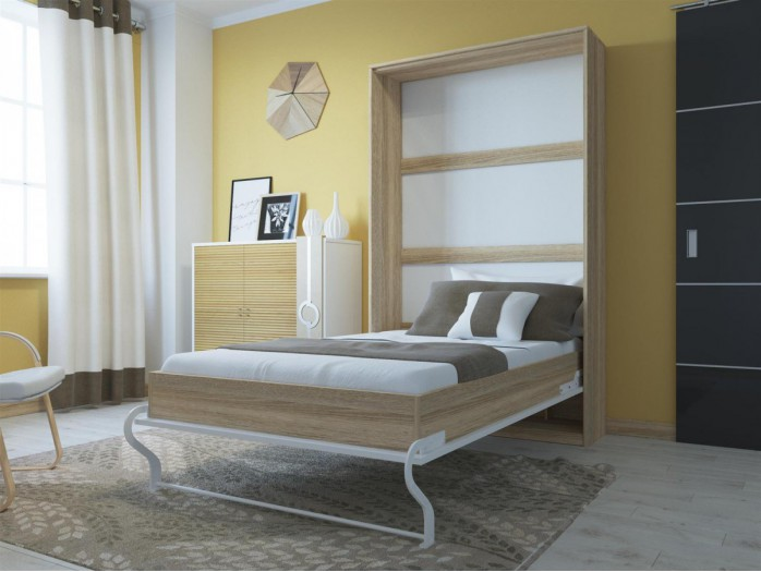 schrankbett 120 x 200 cm g nstig kaufen bs moebel. Black Bedroom Furniture Sets. Home Design Ideas