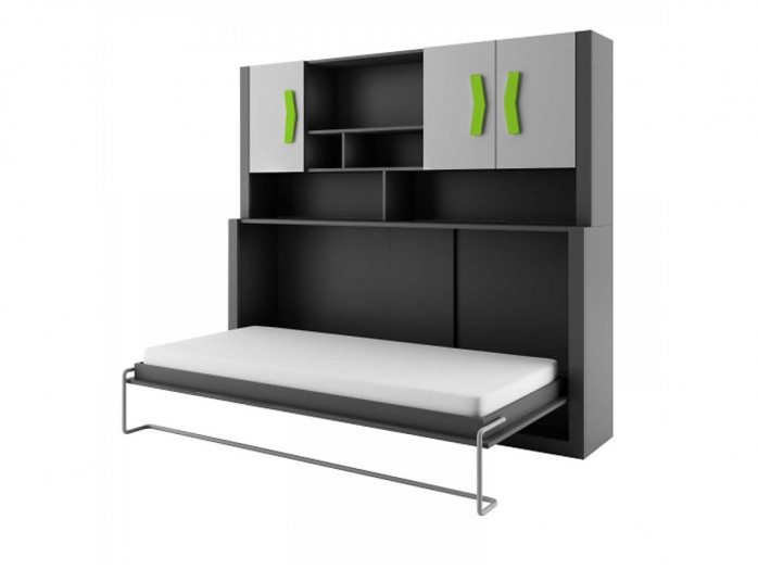 kinder schrankbett kinderbett bs moebel. Black Bedroom Furniture Sets. Home Design Ideas