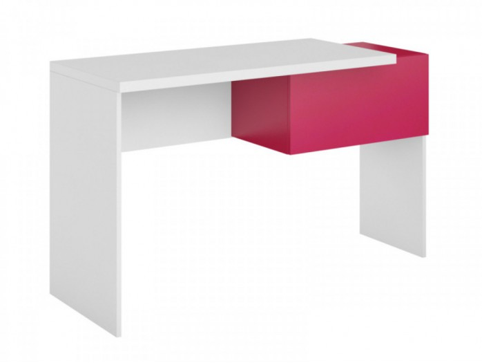 Desk Y-08Right White / Pink