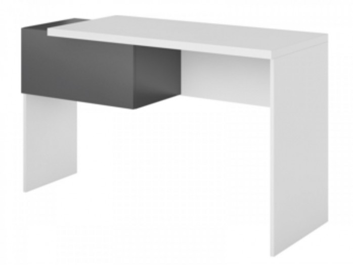 Desk Y-08 Left White / Grey