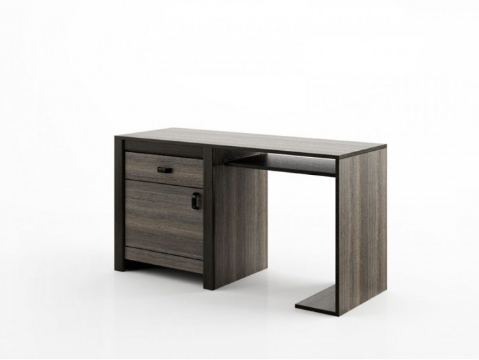 Computer table Denver  DN-7 Wenge Mali / Black