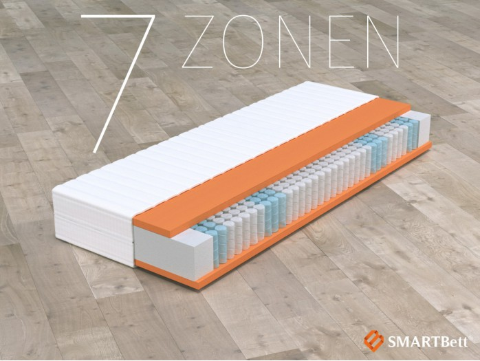 POCKET SPRINGS MATTRESS 80x200 cm
