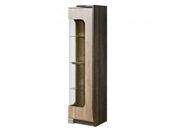 Cupboard with a corner cabinet Oak Canyon / Arusha Wenge