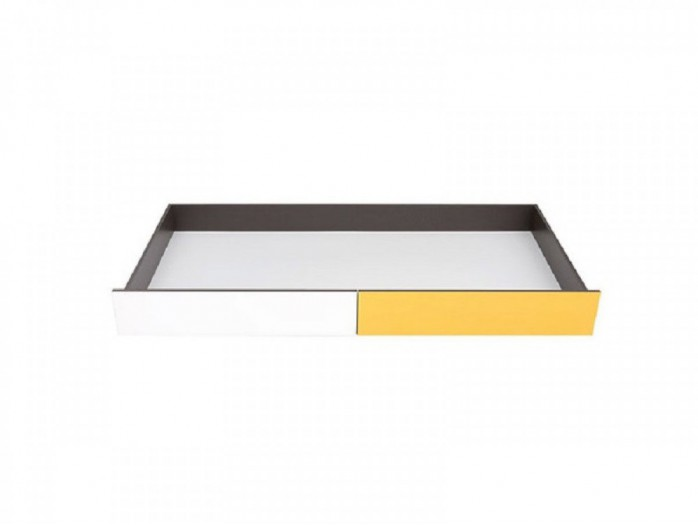 Bed storage box  Grey/ White/ Yellow