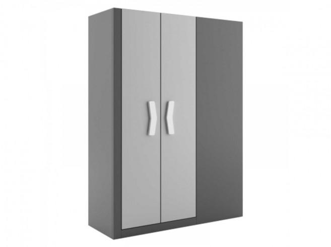 begehbarer kleiderschrank links anthrazit grau weiss 499. Black Bedroom Furniture Sets. Home Design Ideas
