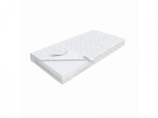 Baby foam mattress double cloth cover 70x140cm