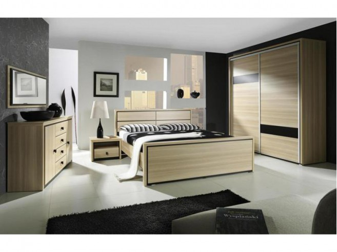 Bett Boston 160cm in 2 Farben