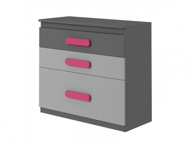 Youth Room PLAY 01(10 pc)  Anthracite / Grey/ Pink