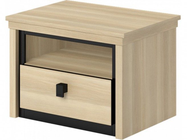 1 Nightstand with 1 drawer
