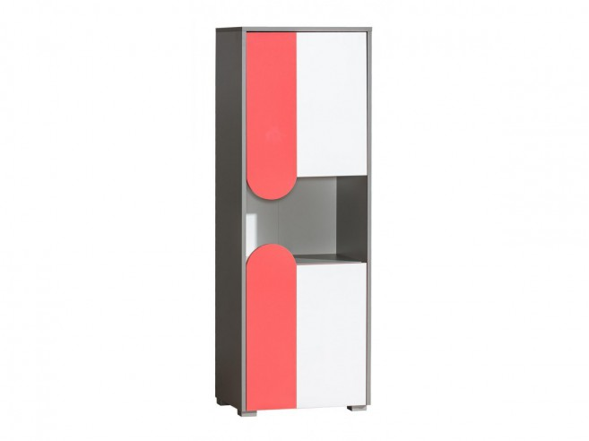 schrank futuro mit 2 t ren himbeere brillantwei 140 44. Black Bedroom Furniture Sets. Home Design Ideas