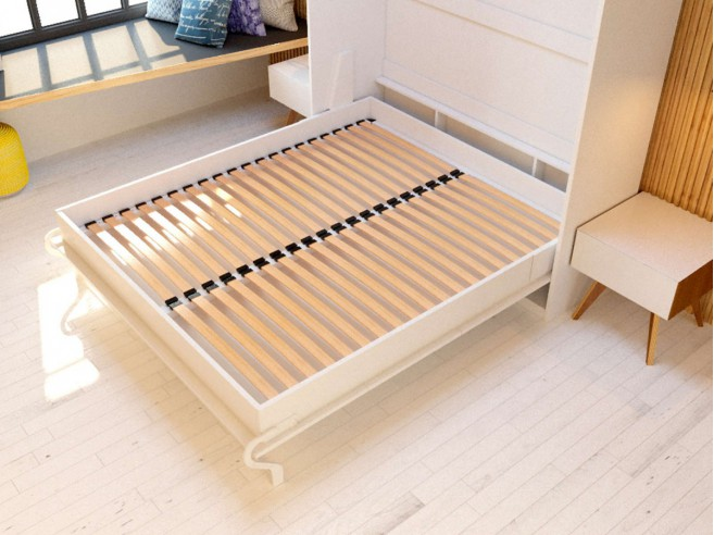 Folding wall bed SMARTBett 160cm Oak Sonoma