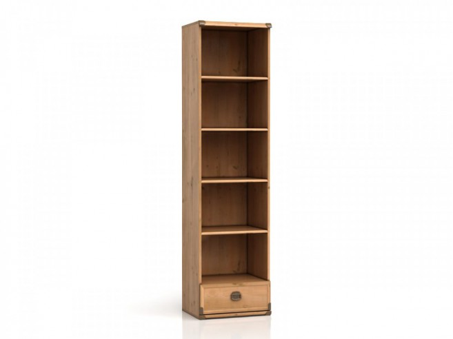 Bookcase Indiana Antique Pine