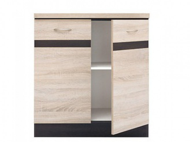 Base cabinet 80 cm with 2 doors Junona Line