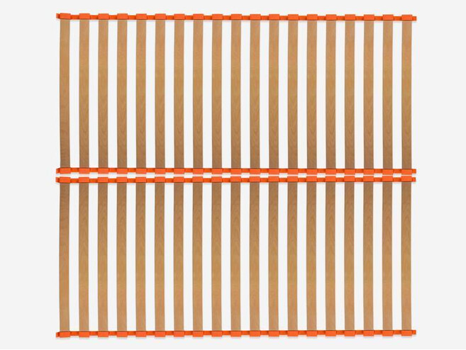 Slatted bed base  ORRB standard system 180x200 53mm Beech