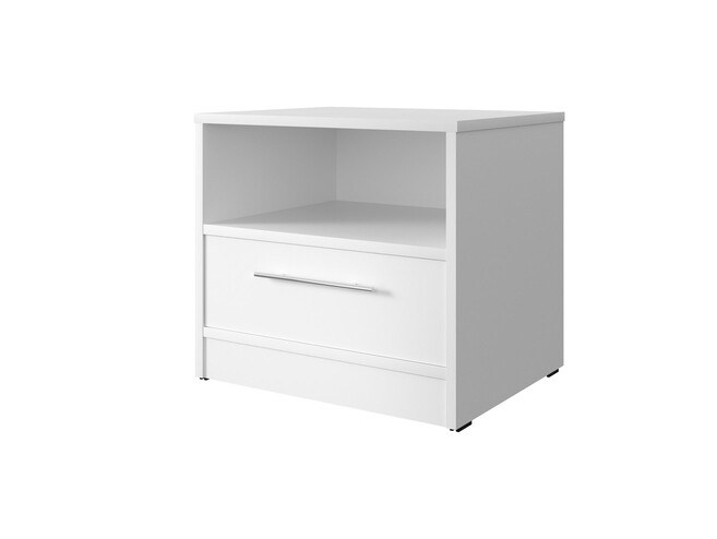 SMART bedside table with drawer White