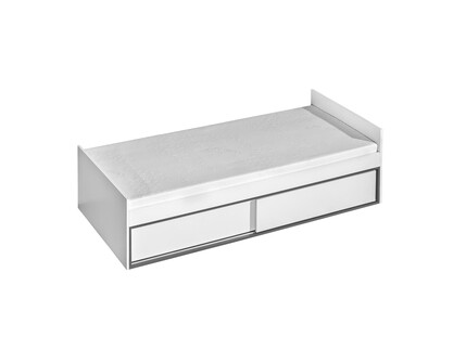 Cot/child bed Trapiko TR13 with four compartments and two...