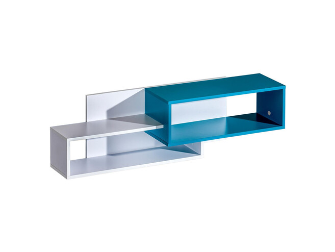 Youth Room Furniture Complete Set Trapiko 01 White/ Blue