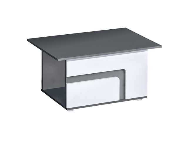 Coffee table Abetito Grey/white