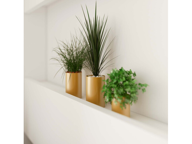 Folding wall bed Standard 90x200 Horizontal White/White High gloss front with Gas pressure Springs