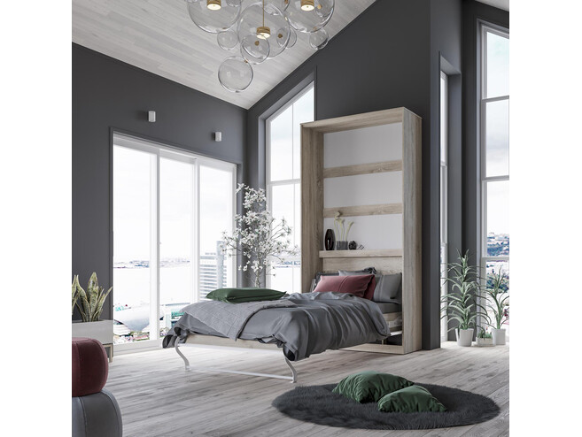 schrankbett 90 x 200 cm g nstig kaufen bs moebel. Black Bedroom Furniture Sets. Home Design Ideas