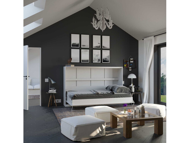 schrankbett 120 x 200 cm g nstig kaufen bs moebel seite 2. Black Bedroom Furniture Sets. Home Design Ideas