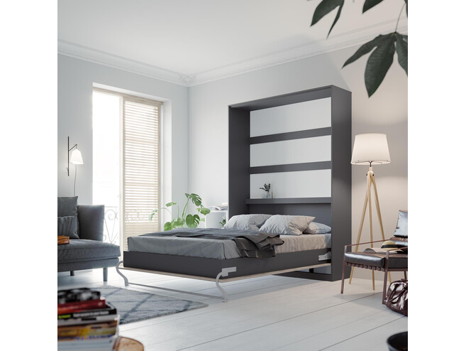 schrankbett 140 x 200 cm g nstig kaufen bs moebel. Black Bedroom Furniture Sets. Home Design Ideas