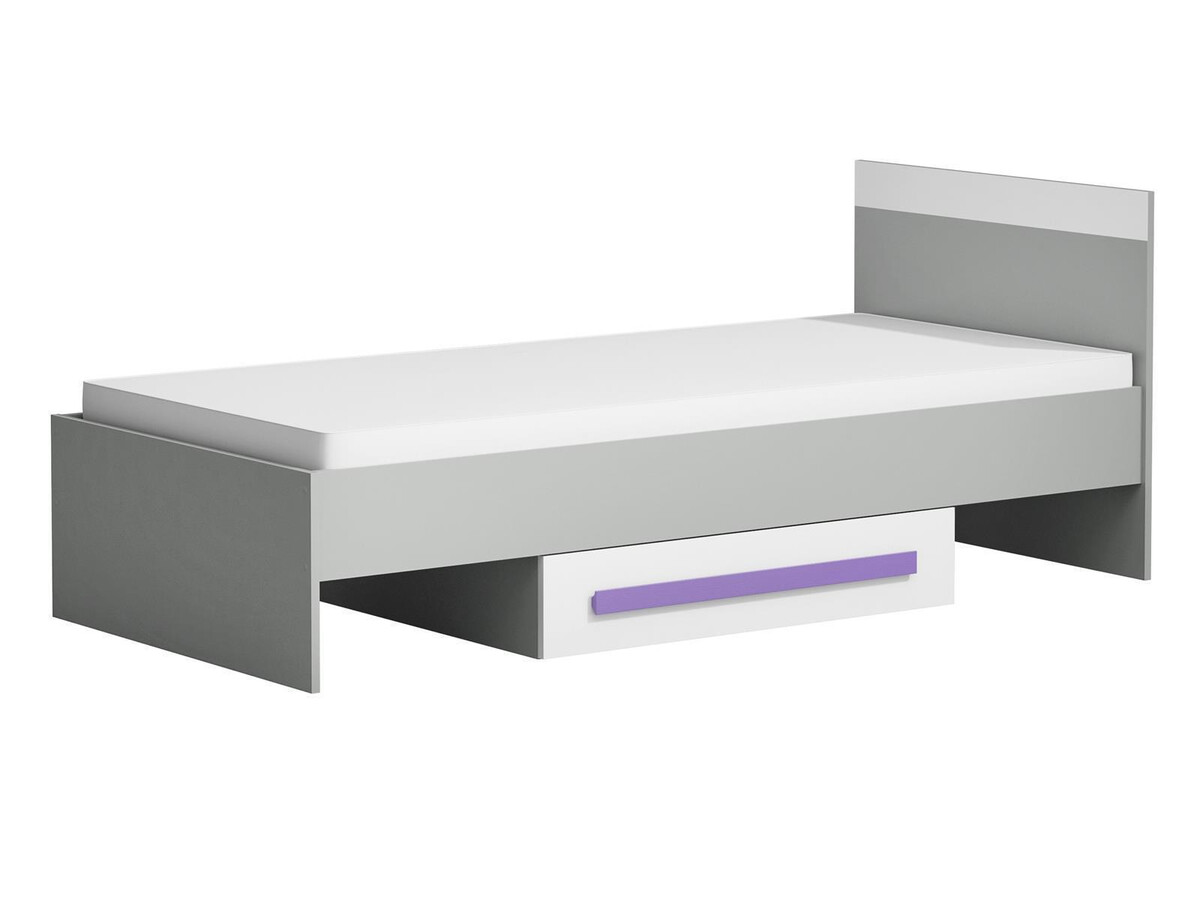 jugendzimmer f r m dchen jungen git 02 7tlg grau weiss violett 918 25. Black Bedroom Furniture Sets. Home Design Ideas