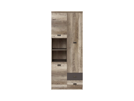Malkolm Cabinet Shelf Cabinet Shelf 80 cm Oak Canyon with...
