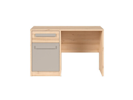 NAMECK desk office table in beech decor / gray