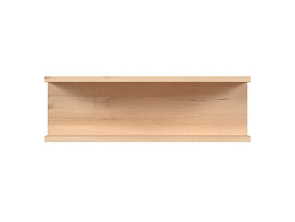 NAMECK wall shelf 60,5cm beech decor