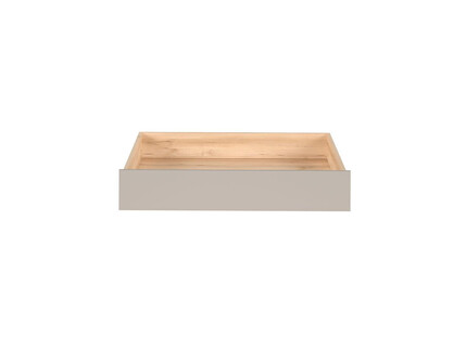 NAMECK bed box in beech decor / gray