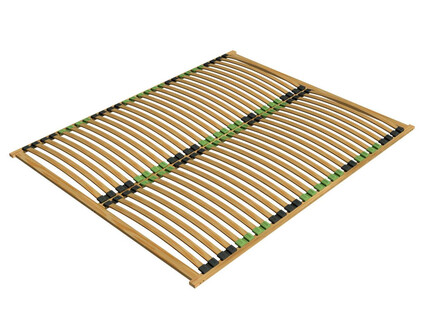 orthopedic slatted frame Ergo Plus 140x200cm from birch